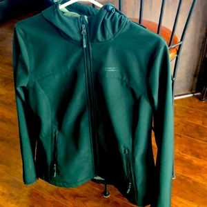 Soft shell water repellent woman's jacket